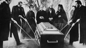 """Still from the film """"The premature burial"""""""