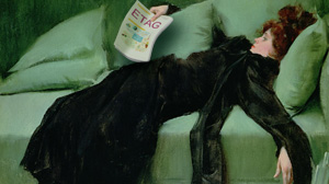 After the ball by Ramon Casas Y Carbo